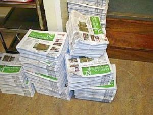 Delivery agent neighborhood newspaper wanted in Willemspark