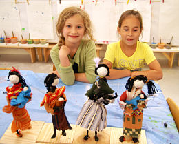 Autumn holiday workshops at the Haags Kinderatelier