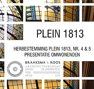 Presentation to the residents evening at Plein 1813 4-5