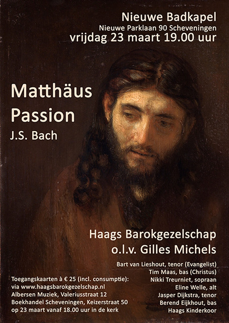 St. Matthew's Passion - on March 23rd