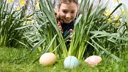Egg Hunt  on Easter Monday in Clubhuis  Cantaloup (2 April '18)