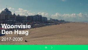 The Hague presents Woonvisie (the new living vision) 2017-2030