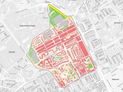 Begrenzing wijken Archipel & Willemspark