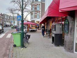 Aanvraag uitbreiding Kiosk Bankastraat 46