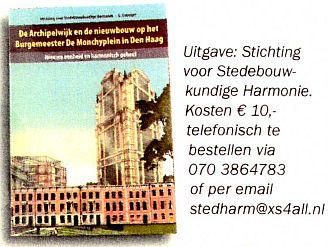 Nieuw boekje verschenen ... over het bijzondere karakter van de Archipelwijk