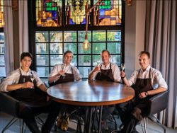 Restaurant Publique ontvangt eenBIB Gourmand