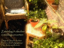 Concert Archicapella op 9 oktober