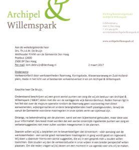 """Verkeersinfarct"" Raamweg-Koningskade"