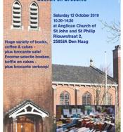 Boeken- en brocante beurs in Engelse Kerk