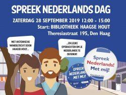 Spreek Nederlands Dag 28 september 2019
