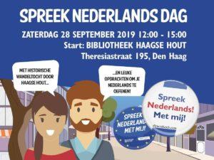 Spreek Nederlands Dag Zaterdag 28 september 2019