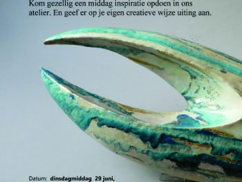 Workshops van Lonneke Nijeboer over kunst en natuur