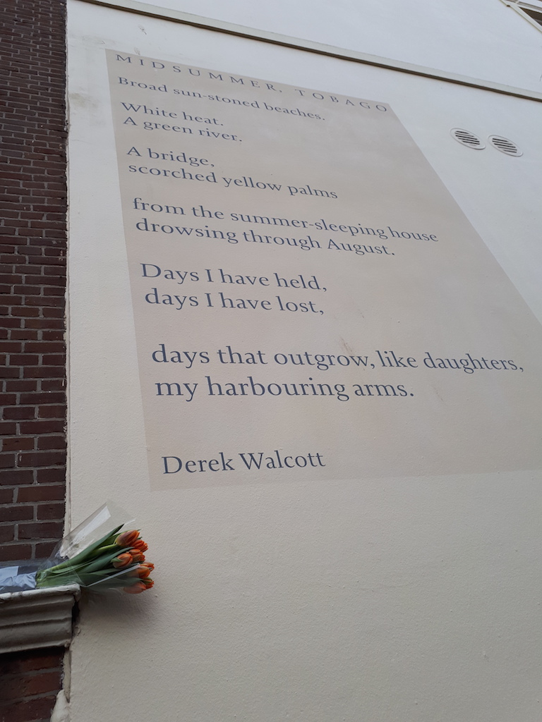 In memoriam: Derek Walcott