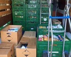 Veel gevulde kratten Voedselbankactie 2019