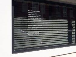 New window poems