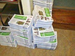People needed to deliver the neighborhood newspaper