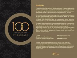 Invitation High Mass 100th anniversary