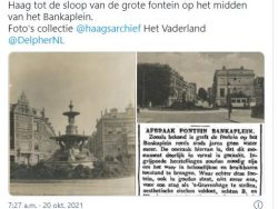 This day in history:   Fountain Bankaplein