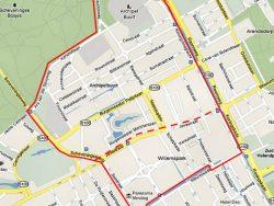 Map of Archipel & Willemspark