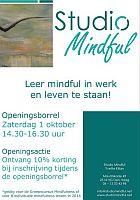 Studio Mindful opened on 1 October 2016