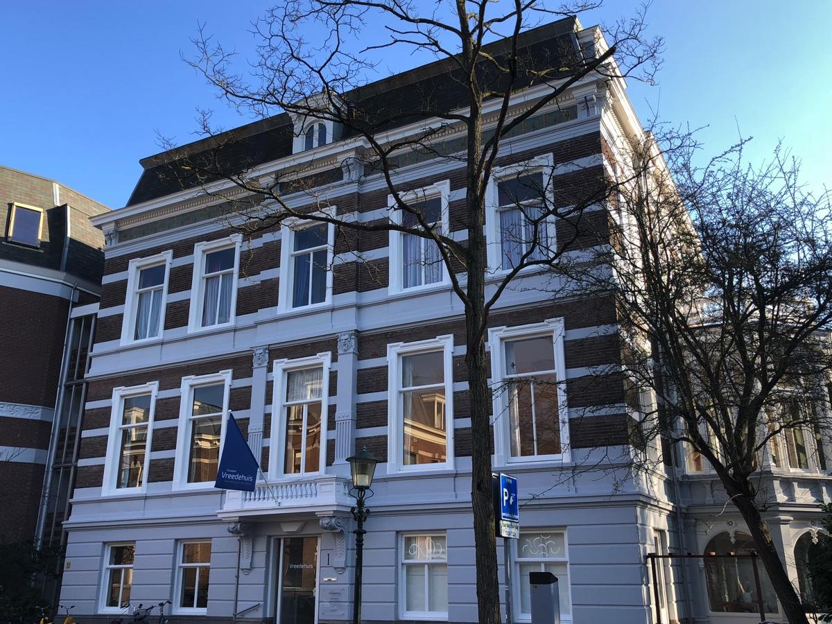 """Name change: """"De Zalen"""" is now called """"Het Vreedehuis"""""""